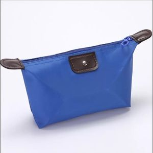 Blue Travel Cosmetic/Makeup/Toiletry Bag